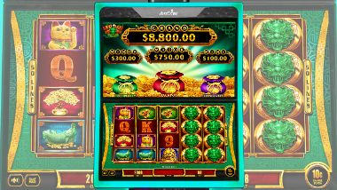 Slot Machine Dragon Fu Dai Lian Lian