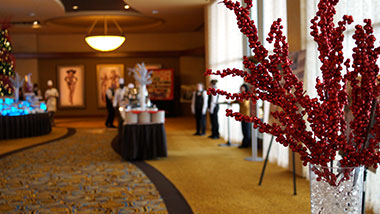 event center banquet hallyway