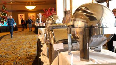 event center banquet hallway