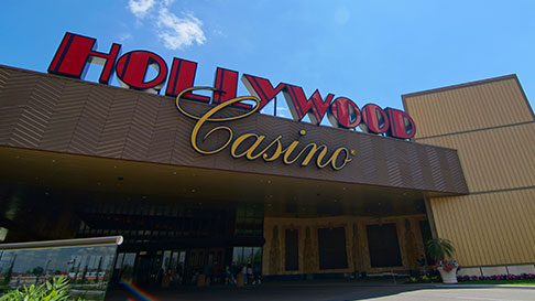 Hollywood Casino Entrance