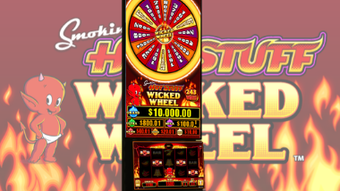 Smokin' Hot Stuff Wicked Wheel Slot Machine
