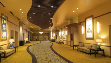 event center hallway