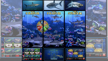 Jaws of Steel Sharkweek Slot Machine
