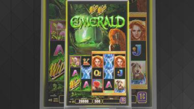 Slot Machine Wild Wild Emerald